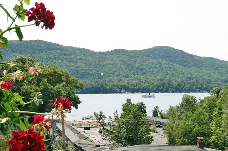 Enjoy splendid views of Lake George