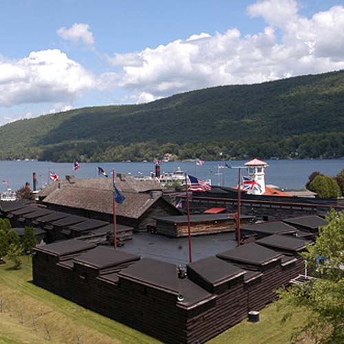 Fort William Henry in Lake George NY