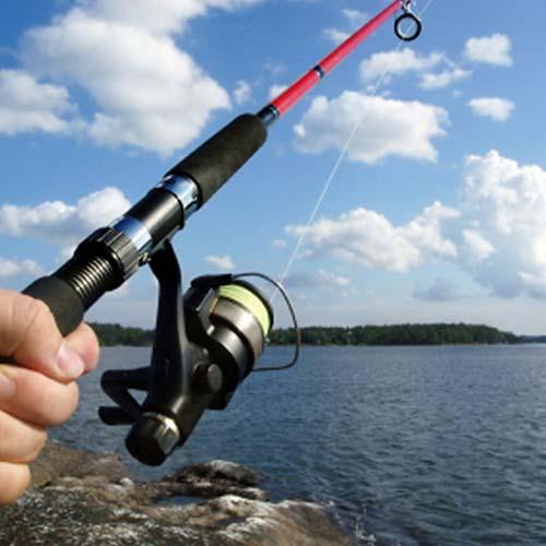 Fishing on Lake George