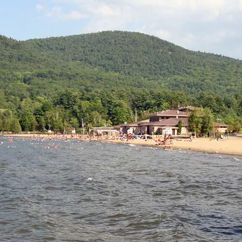 Lake George Million Dollar Beach