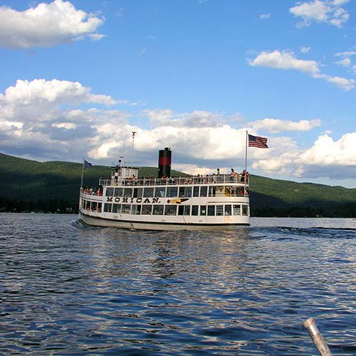Mohican Steam Boat on Lake George